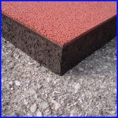Pavimentazione antitrauma gomma epdm 40mm certificata hic 2.25 mt