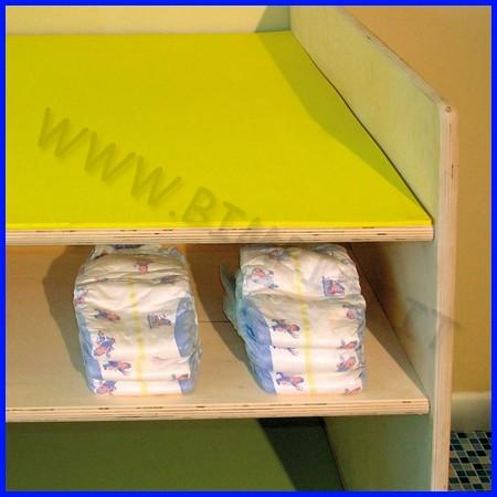 Materassino gomma cm.52x72 x fasciatoio linea milano monoposto