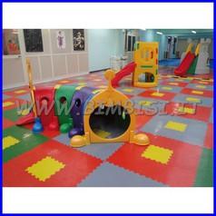 Pavimentazione modulare puzzle floor arancione 11 pz = 1 mq