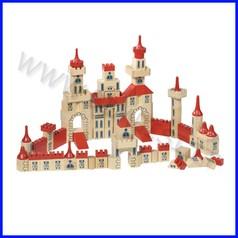 Castello in legno confezione da 150 pz