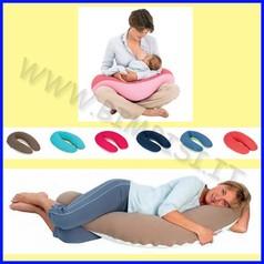 Cuscino allattamento buddy grande cotoon avorio/beige