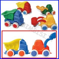 Go-go camion con ribalta + ruspa
