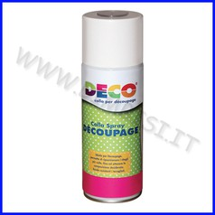 Decoupage colla spray