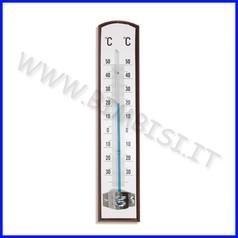 Sistemi misurazione termometro da parete in legno